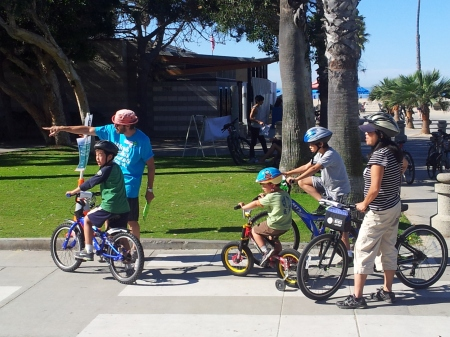 Bike it Walk it this week at Santa Monica and Malibu schools!