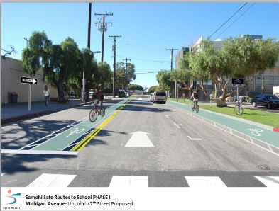 Council Reviews Safe Routes to Samohi Project Feb 11